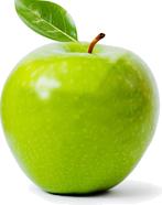 Beissen Sie in einen Apfel ohne Probleme - mit gesunden Zähnen.